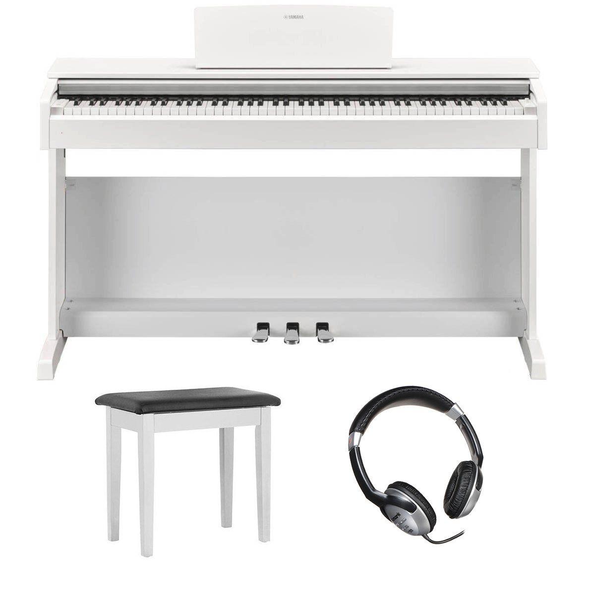 Yamaha Ydp 143 Digital Piano White Bundle Digital Piano Yamaha Ydp Yamaha