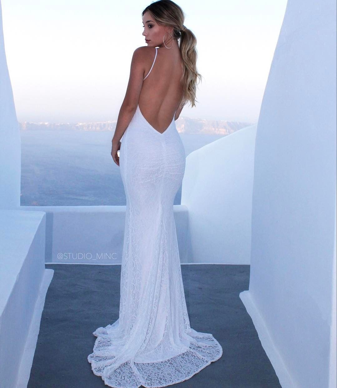 White Reckless. by www.studiominc.com.au The simplistic backless ...