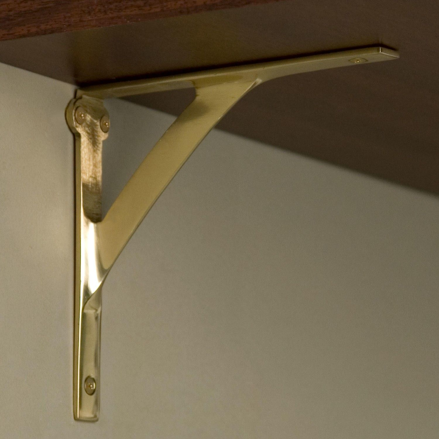 Bookcase Green currently style support as antique angle Shelf Brackets