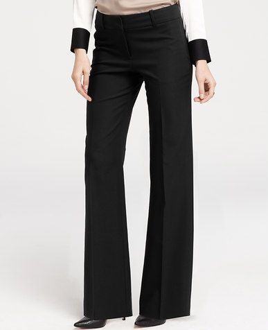 Petite Signature Compact Doubleweave Trousers