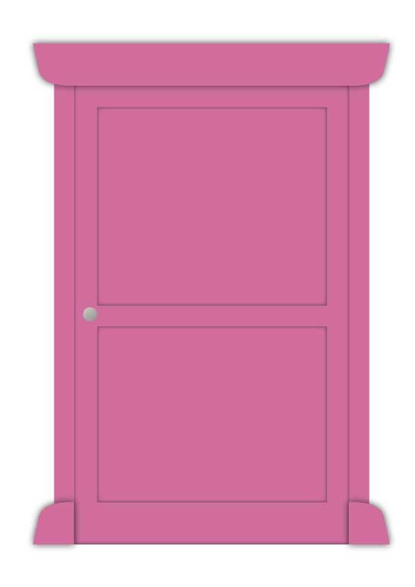 ミニ どこでもドア の作り方 型紙 無料ダウンロード どこでも