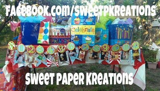 12 month banner for Circus Birthday Party!:))