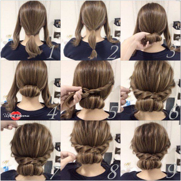 Easy Hairstyles For Short Hair Школа Красоты  Hairstyles*  Pinterest  Hair Style Hair Dos And