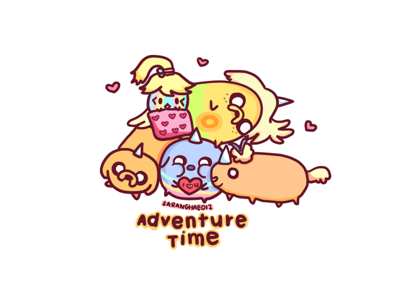 Jake The Dog Babies Adventure Time Crossover Adventure Time Adventure Time Anime