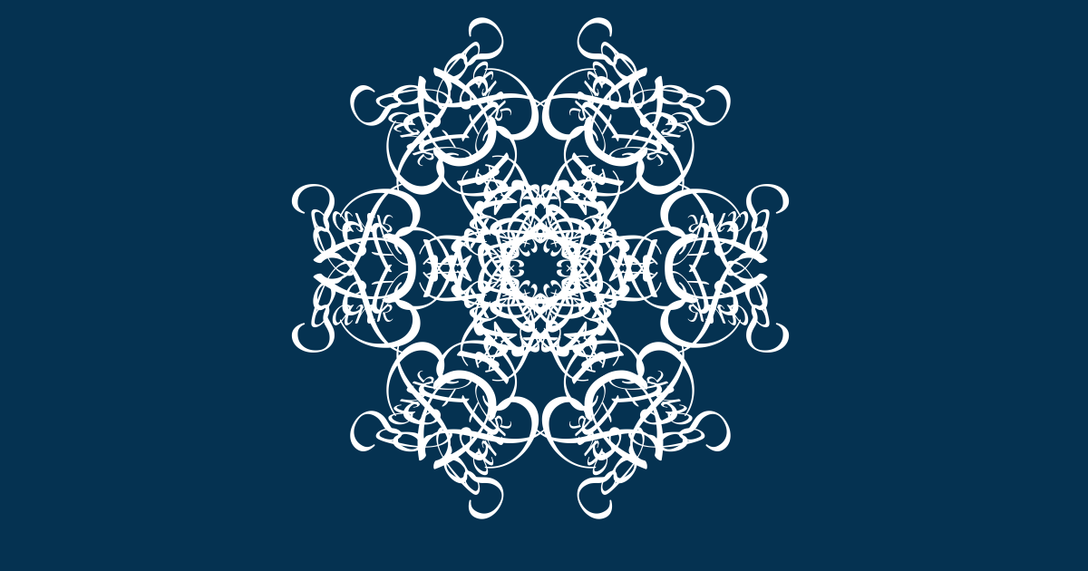 I've just created The snowflake of Bridget Fairbank.  Join the snowstorm here, and make your own. http://snowflake.thebookofeveryone.com/specials/make-your-snowflake/