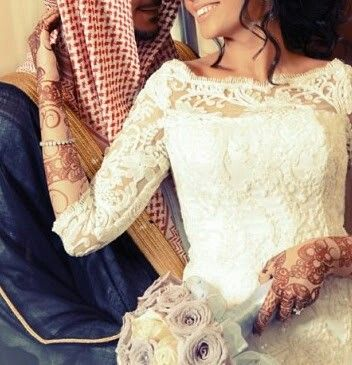 هب السعد هبايبه Wedding Dresses Lace Muslim Wedding Muslim Couples
