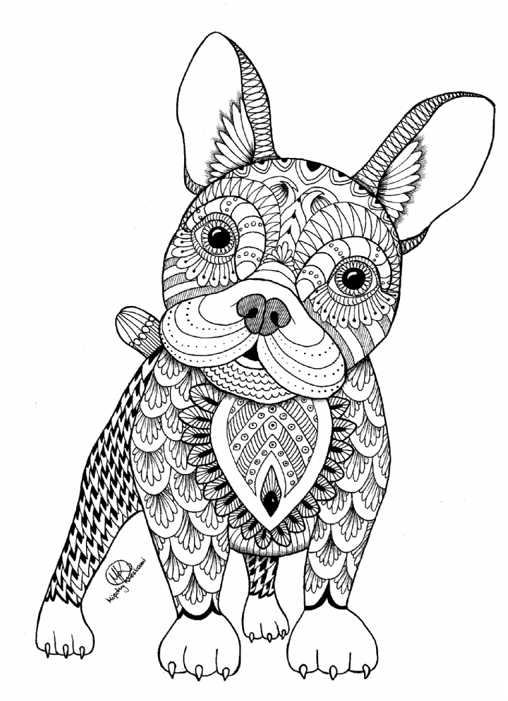 Intricate Animal Coloring Pages New Die 92 Besten Bilder Von Mandala Coloring In 2020 Puppy Coloring Pages Owl Coloring Pages Dog Coloring Page