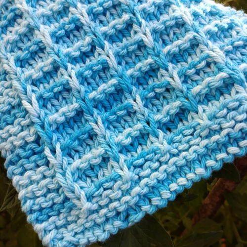 Field Dishcloth : AllFreeKnitting - 1000s of Free Knitting ...