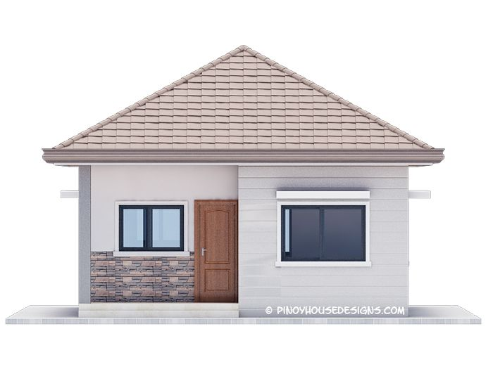Ruben Model Is A Simple 3 Bedroom Bungalow House Design With Total Floor Area Of Bungalow House Design Small House Architecture Small House Design Philippines