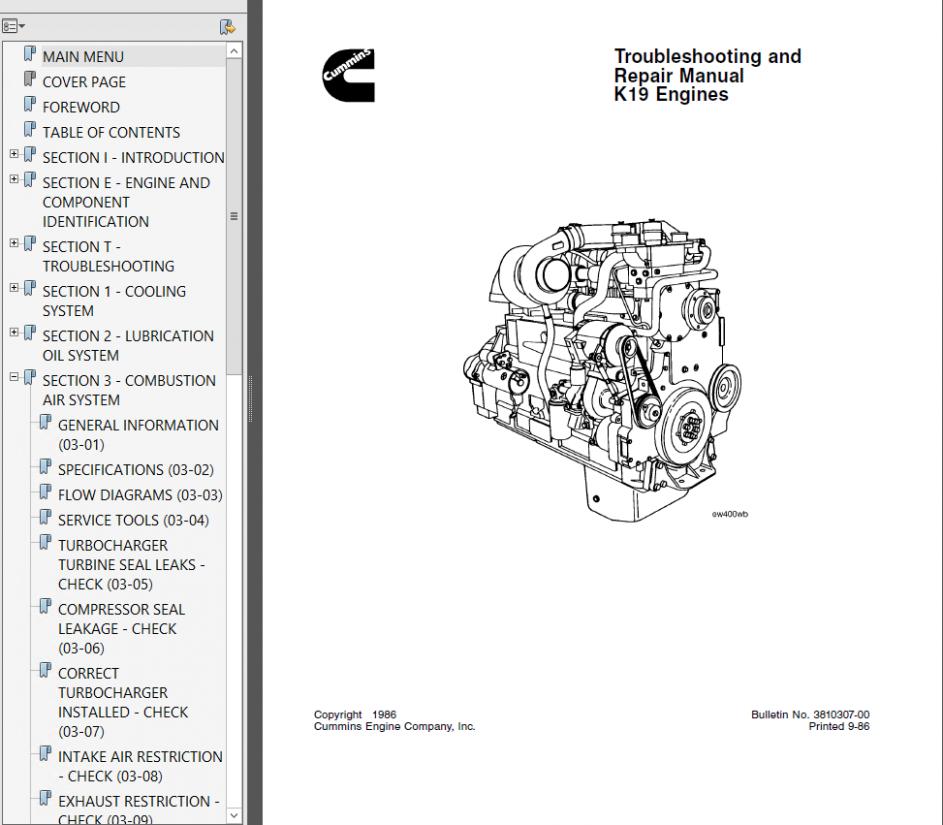 Isx Cummins Engine Diagram Manual Cummins Engine Cummins Engineering