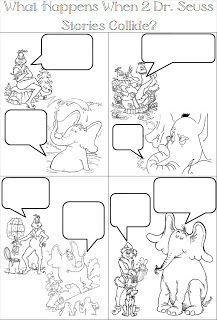 Dr Seuss Comic Strips Comic Strips Writing Workshop Picture