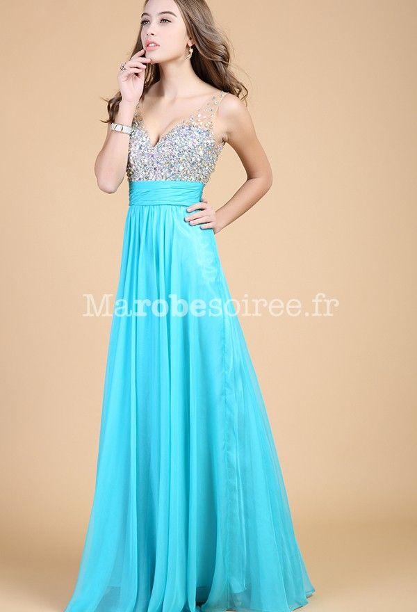 Bleu turquoise robe