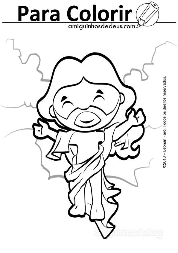 ASSERTUM: Símbolos de Pascua para Colorear | Dibujos religiosos ...