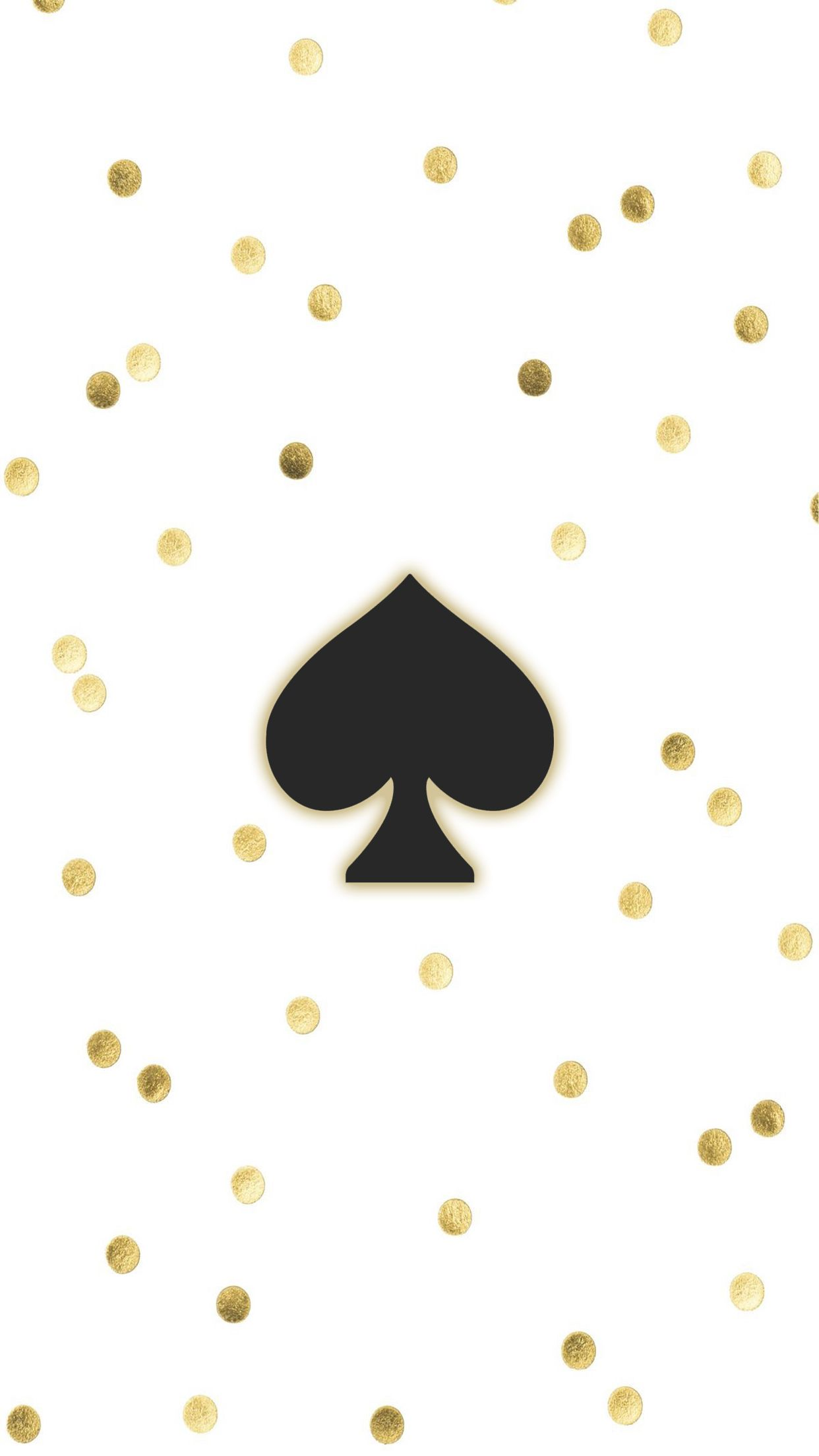 Kate spade gold iPhone Wallpaper Background | Iphone ...