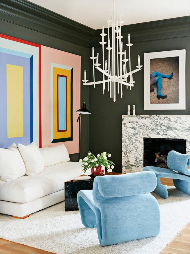 Angela Blehm's Artistic Color-Filled Home in Georgia – Thou Swell