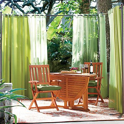 Outdoor Curtain Rod With Post Set Outdoor Curtain Rods