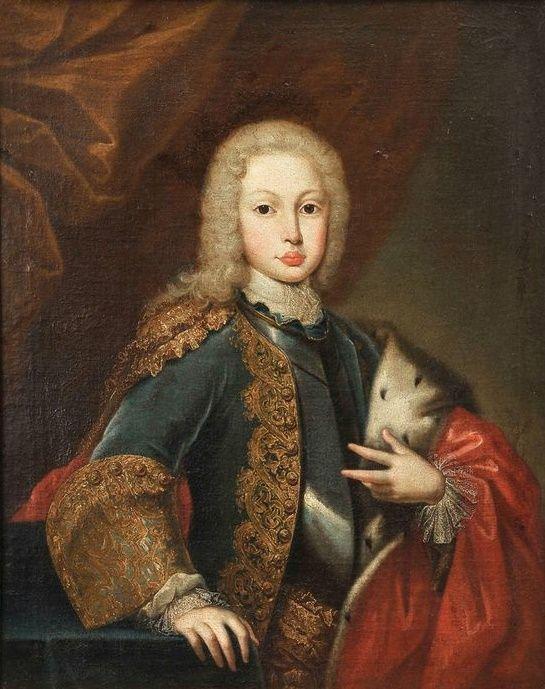 Portrait of Joseph; Prince of Brazil; Domenico Duprà, 1725.