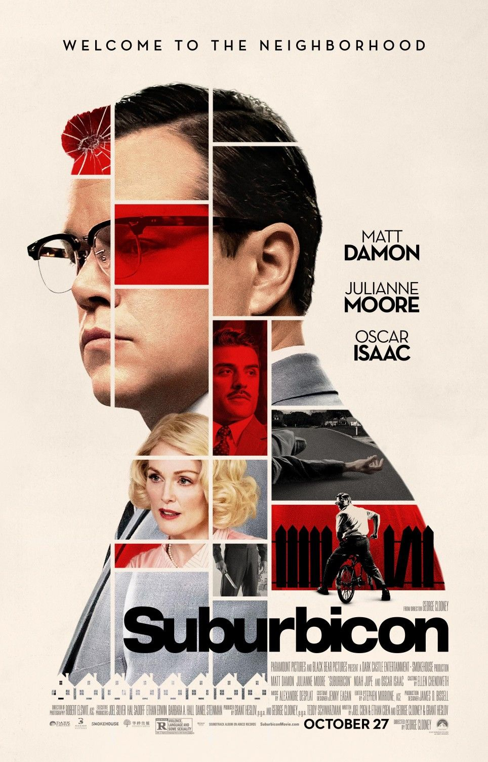 George Clooney S Suburbicon Is A 2017 American Black Comedy