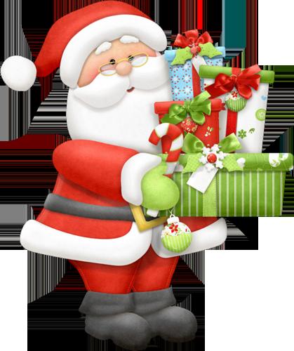Imagenes De Papa Noel De Navidad.Gifs Imagenes Variadas De Papa Noel Navidad Siluetas