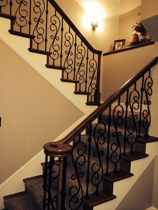 Staircase I love | Stair railing design, Interior stair ...