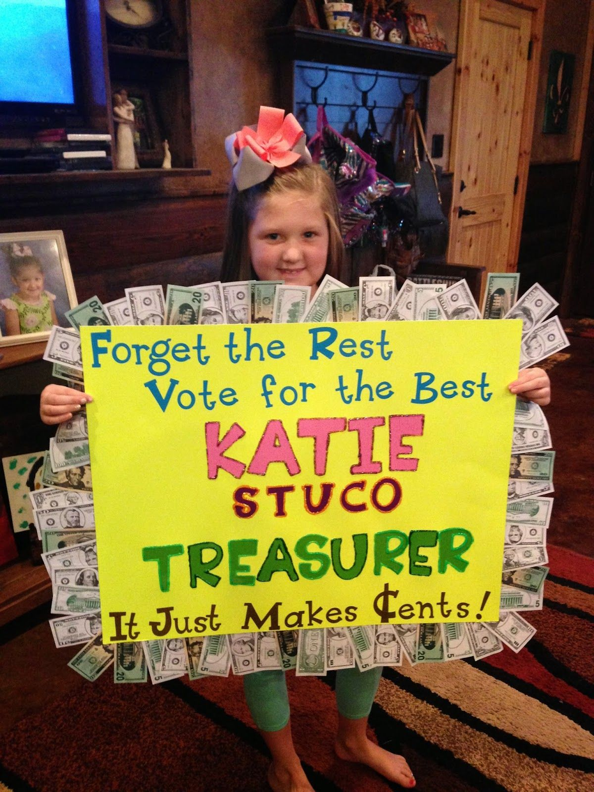 Watch Me Grow: Student Council Treasurer Campaign ...