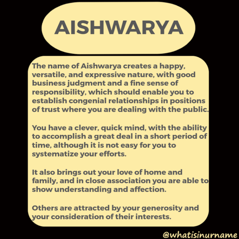 Aishwarya Name Meaning Names With Meaning Meant To Be Names This name is mostly being used as a girls name. aishwarya name meaning names with