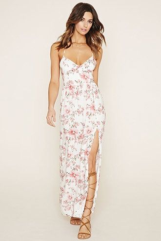 a20e9673fe4 Floral Maxi Dress. Clothing - Forever 21 ...