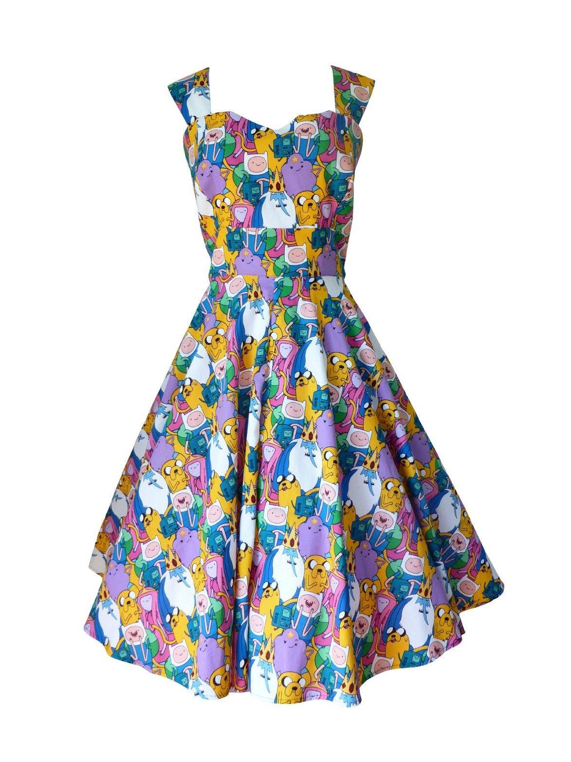 adventure time dress perfect swing dress my style dresses