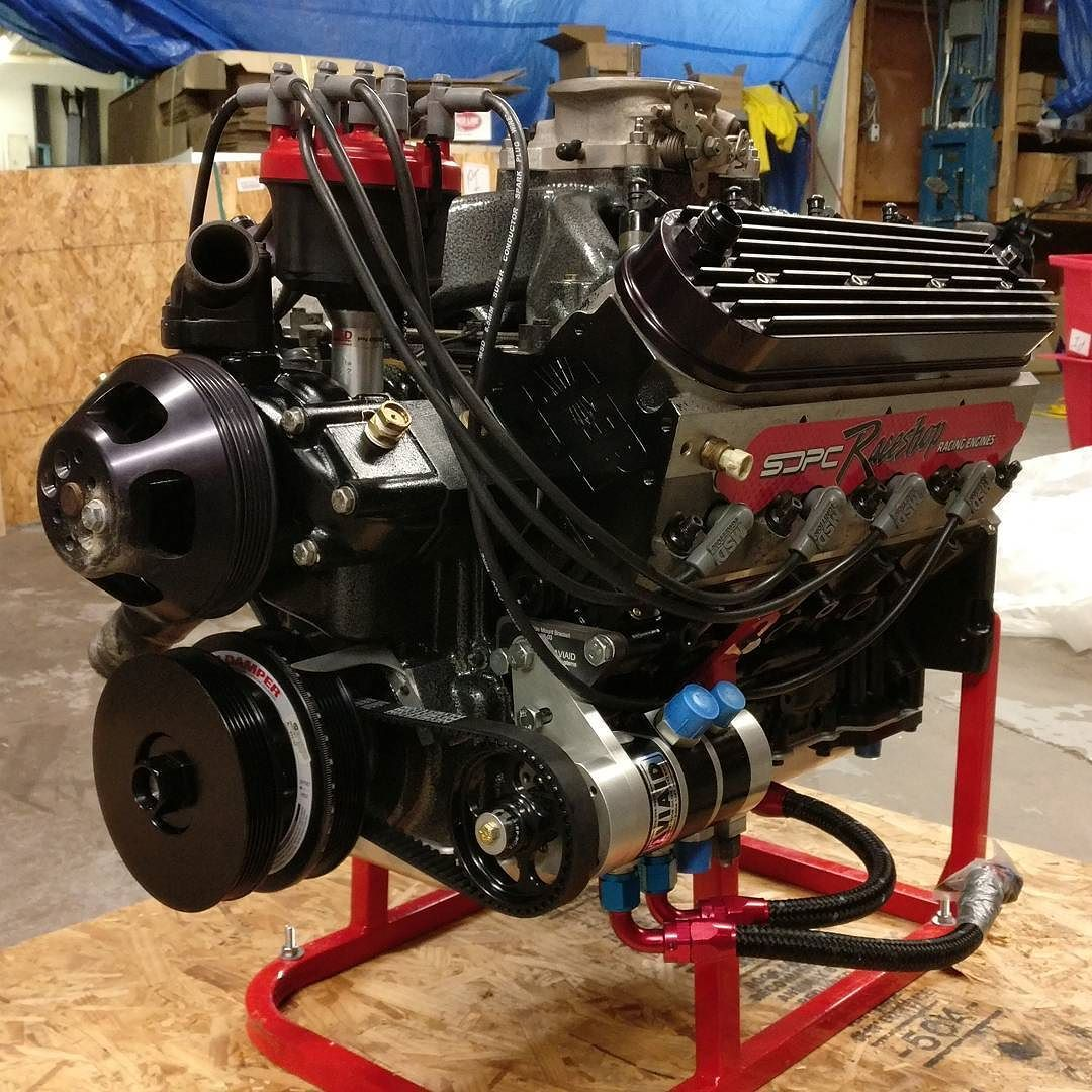 Took @targatruck 's refreshed 427 out of the #scoggindickey crate! 600HP of Oil Sump badassery - Thats #WhatsInTheBox