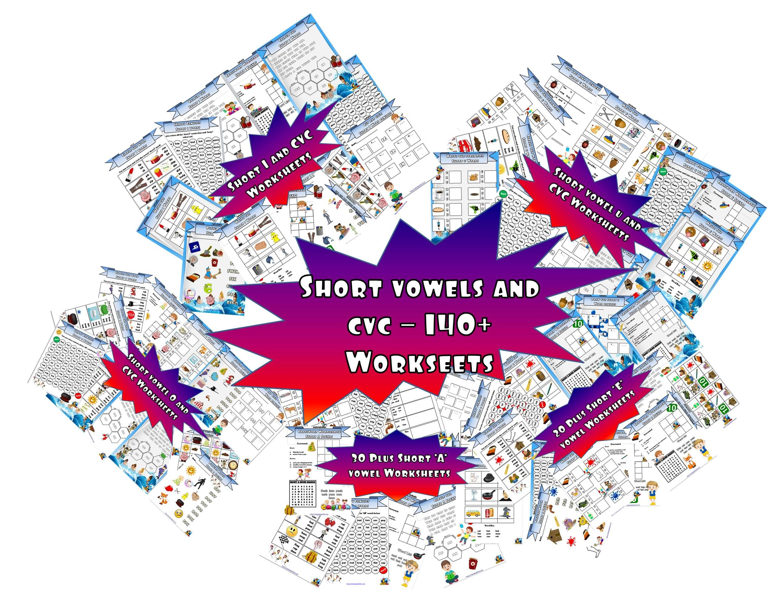 Over 140 Ready Made Worksheets That Teach And Practice