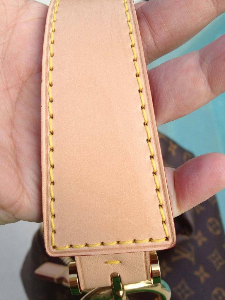 Louis Vuitton with Vachetta leather trim, how to clean