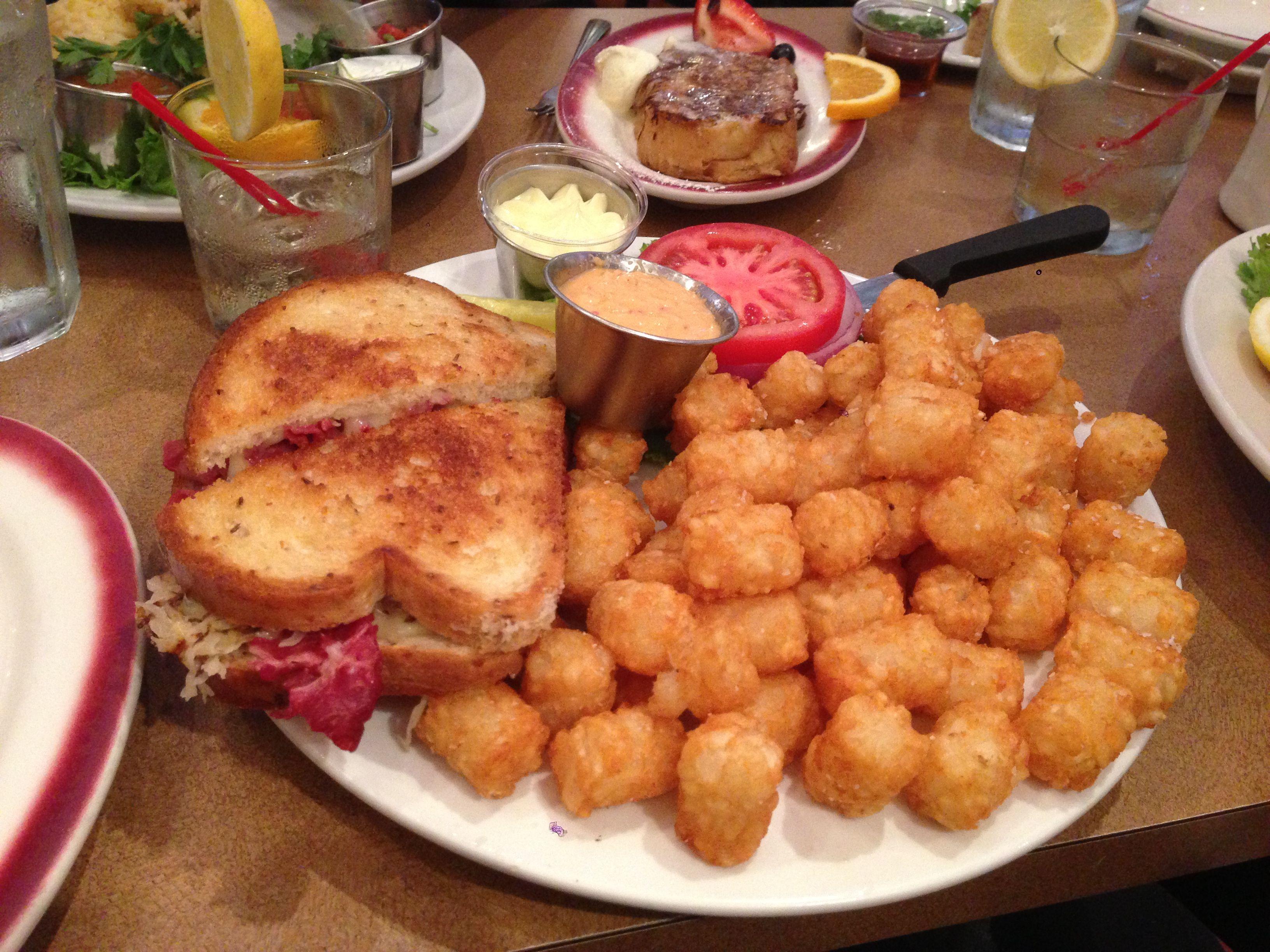 reuben tater tots at big chicks, chicago | eat it | pinterest