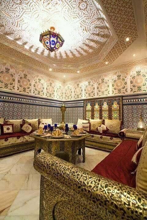 Luxe Salon Marocain
