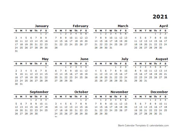 2021 Calendar Template Calendarlabs Wallpaper