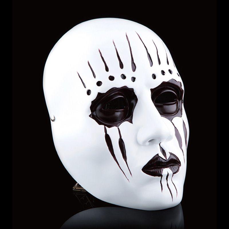 Mask Decorating Ideas Fascinating Resin Gmask Slipknot Joey Cosplay Mask Scary Mask White Slipknot 2018