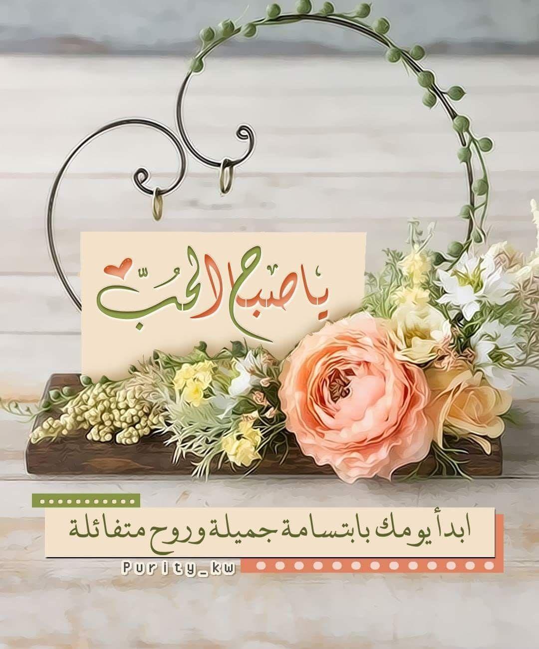 ياصباح الحب لكل العابرين بابتسامة رقيقه تعطي أملا في يوم جميل صباح الخير ص Good Evening Wishes Good Morning Arabic Good Morning Dear Friend
