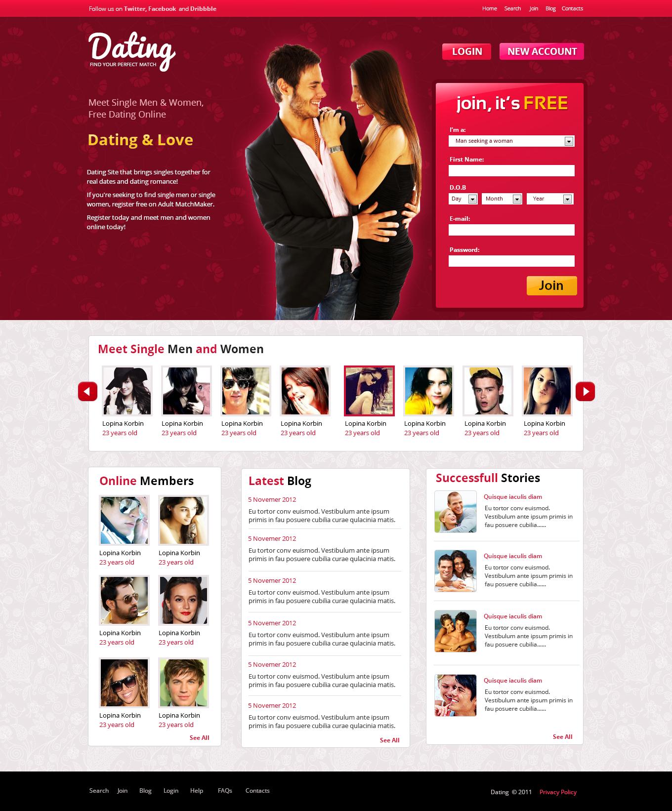 weekend dating site- ul web)