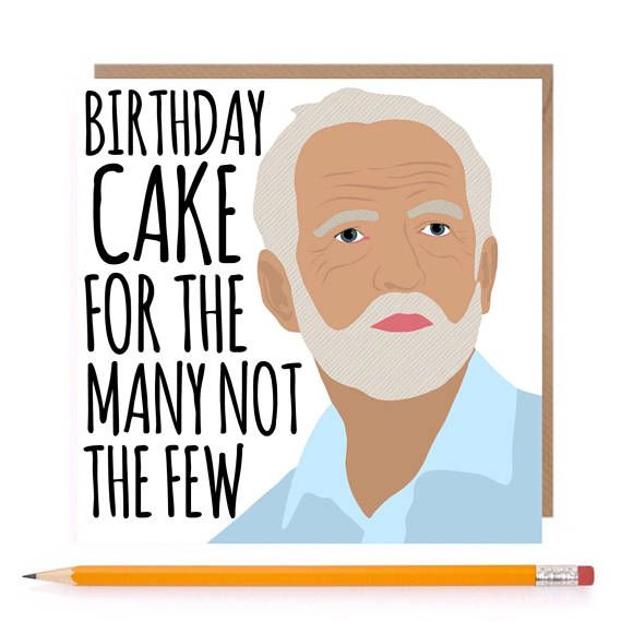 Corbyn Birthday Cake
