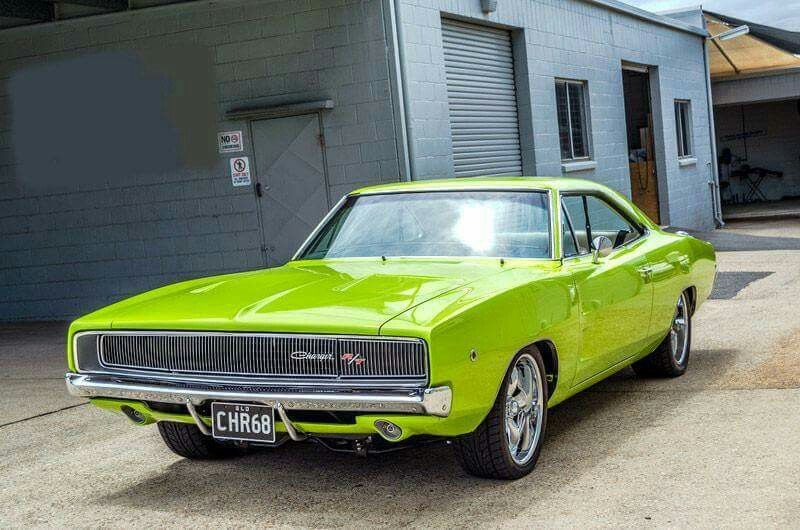 A sleek 68 Dodge Charger R / T..Re-pin brought to you by #bestrate on #AutoInsuranceinEugene at #HouseofInsurance