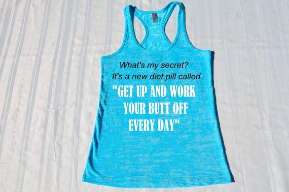 women workout shirt/workout tank top/workout by fitnessapparel, $22.00