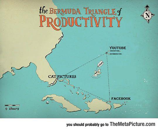Real Bermuda Triangle