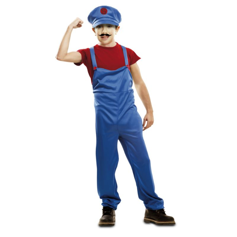 Déguisement Super Mario #déguisementsenfants #costumespetitsenfants