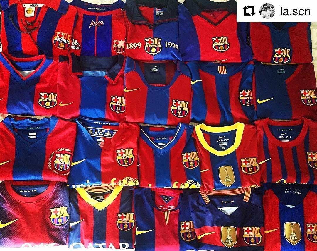 premium selection 18e7f c9217 Back to back Barca from @la.scn @fcbarcelona home jersey ...