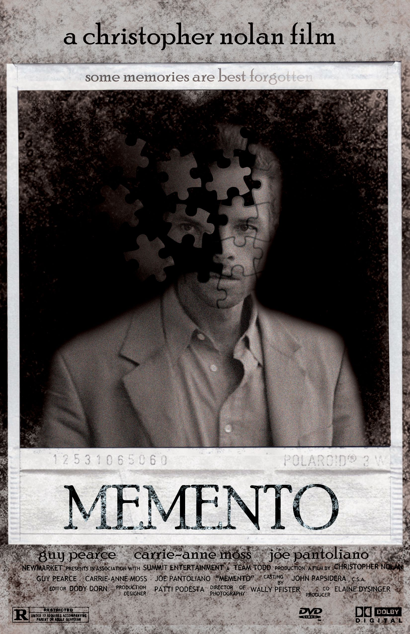 memento surreal films movie posters and cover art memento