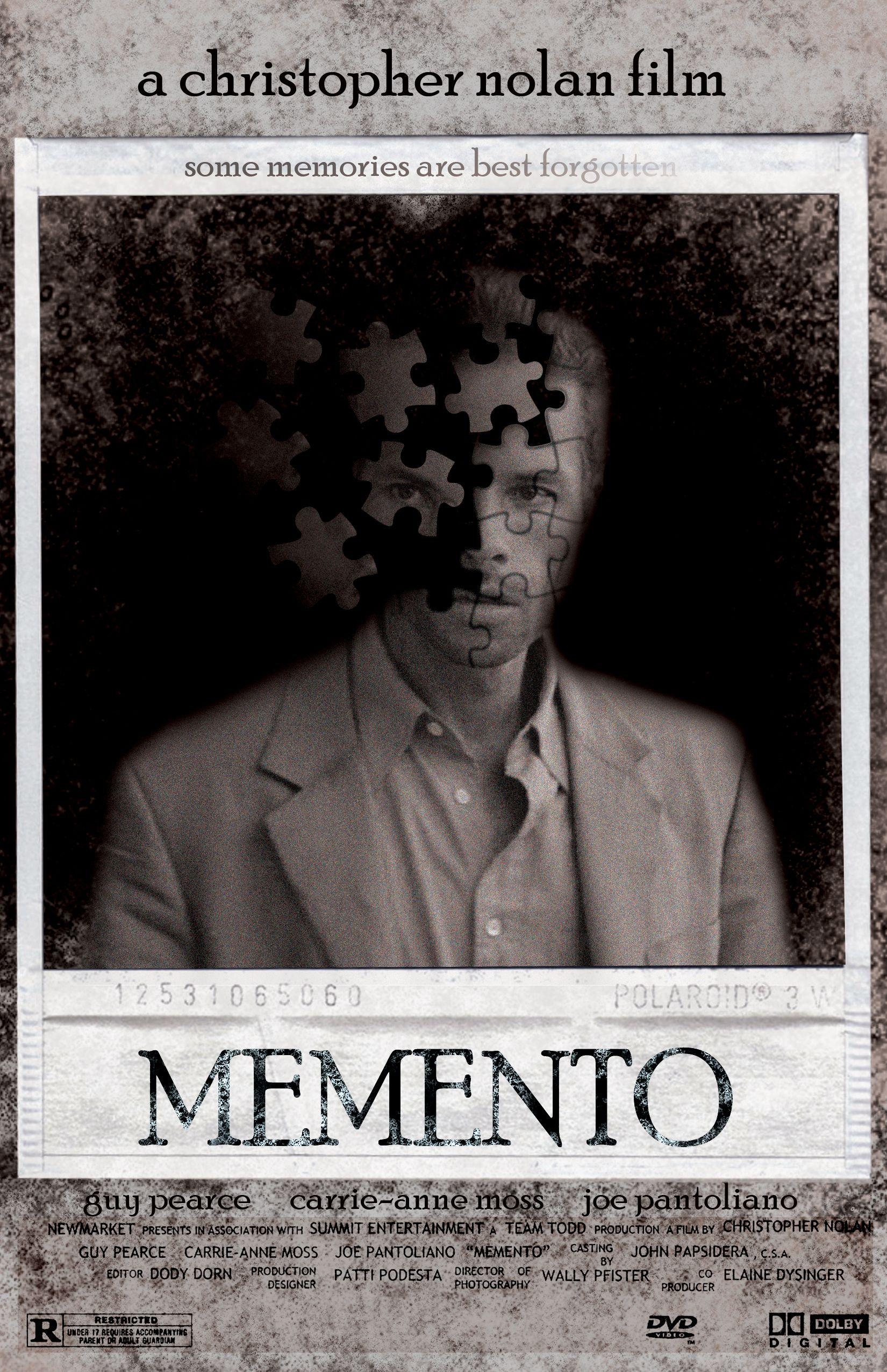 Memento Memento movie, Nolan film