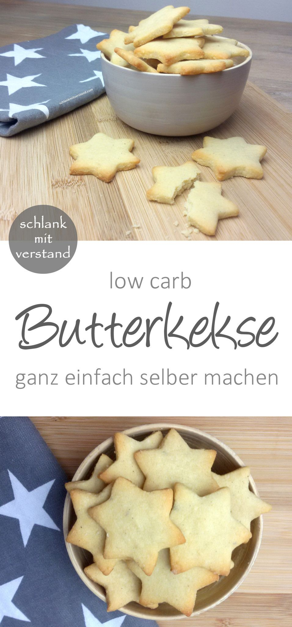 Butterkekse low carb