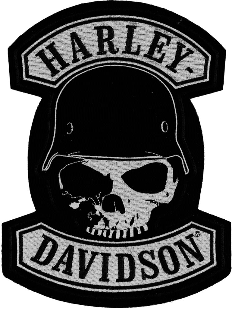 You Have Probably Seen The Harley Davidson Skull Logo Before Its Not Official Design But It Is Ubiquitous With Brand And One Of M
