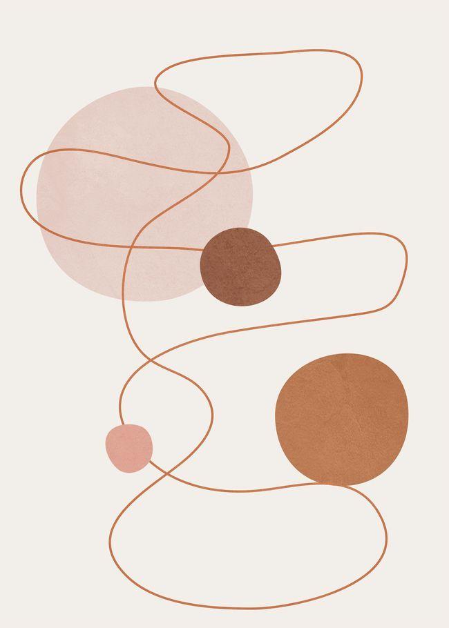 Abstract Modern Art 21 Art Print by Flow Line - X-Small in 2020 | Modern art abstract, Abstract wall