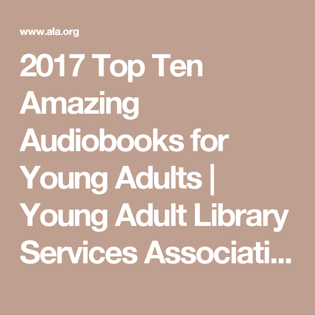 Young adult library services association — 2