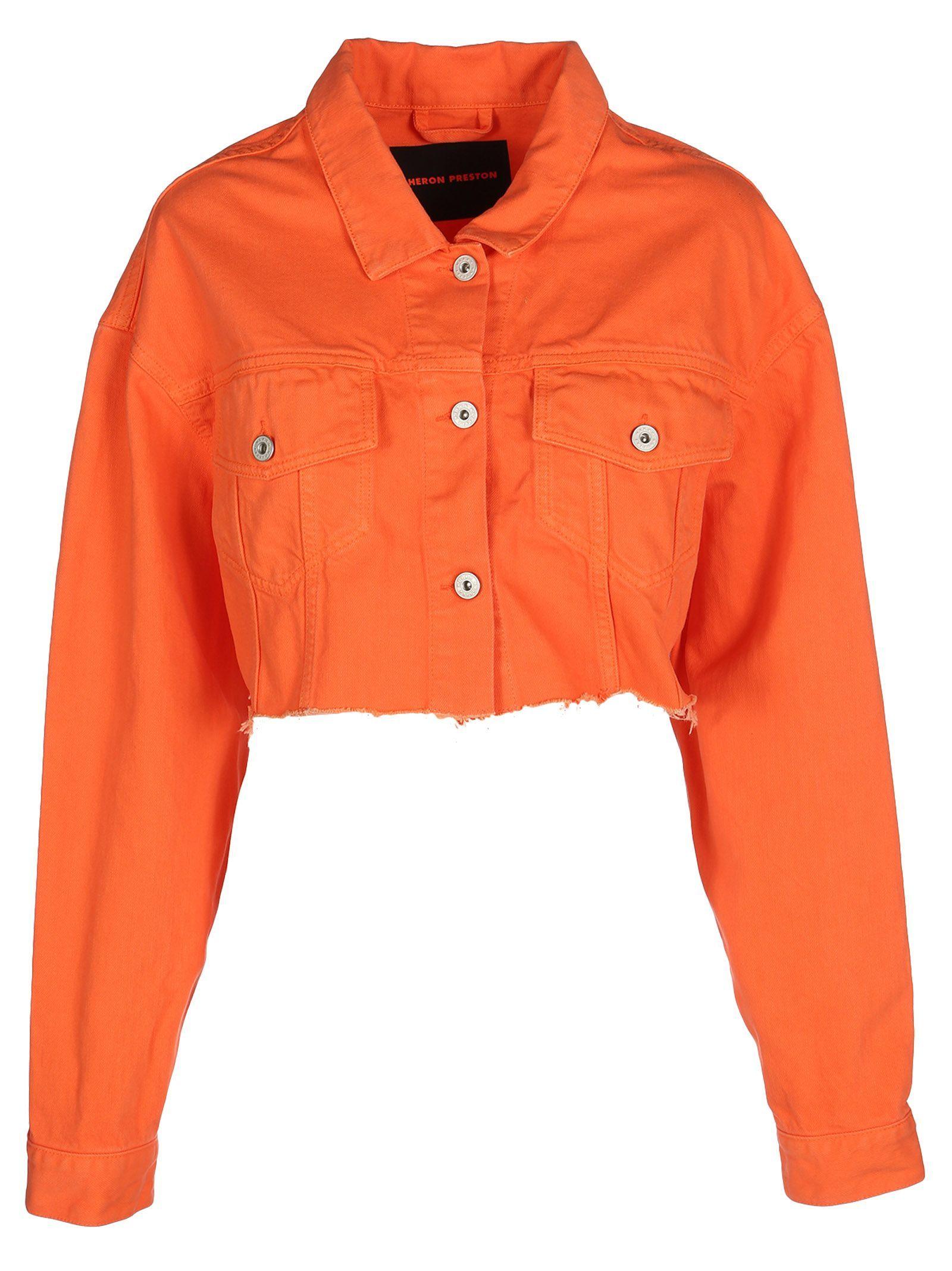 Heron Preston Heron Preston Cropped Denim Jacket Heronpreston Cloth Cropped Denim Jacket Cropped Denim Jackets [ 2136 x 1600 Pixel ]